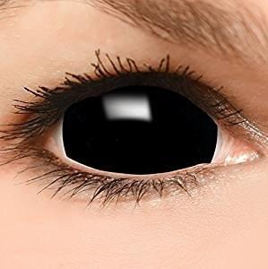 Kontaktlinse schwarz