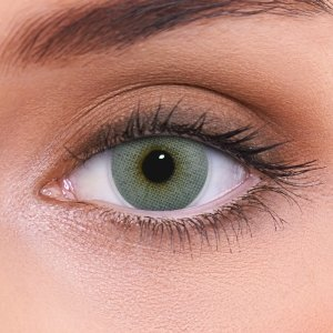 Kontaktlinsen grau