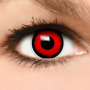 kontaktlinsen rot