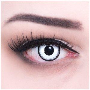 kontaktlinsen weiß